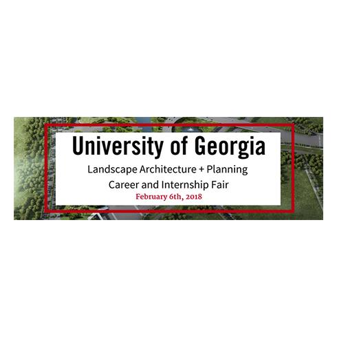 University of Georgia LA+Planning Career Internship Fair