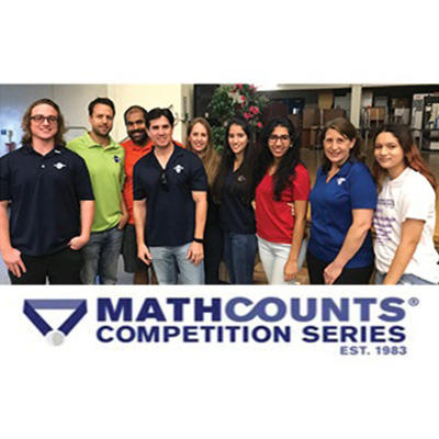 CMA Staff Volunteered at MATHCOUNTS Competition