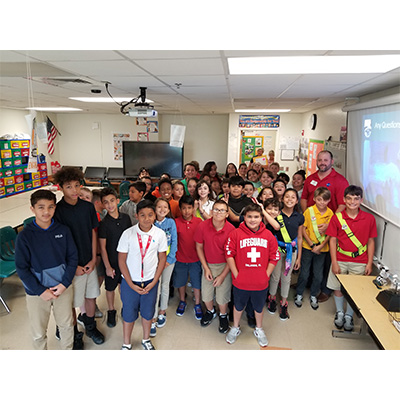 Mike Wood Presented on STEM at West Palm Beach Elementary School
