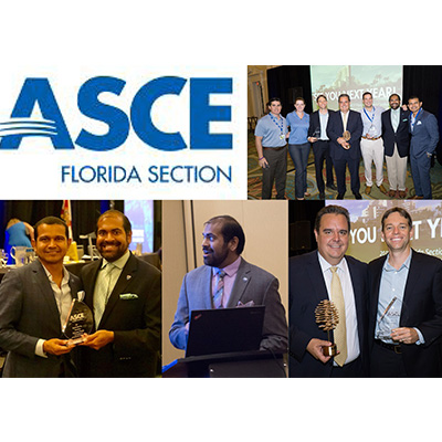 CMA Honored With Awards at ASCE Florida Section Annual Conference