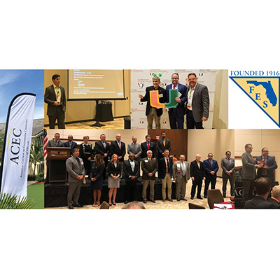 CMA President and Staff Recognized at Annual FES/ACEC Conference