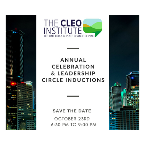 The Cleo Institute Annual Celebration and Leadership Circle Inductions