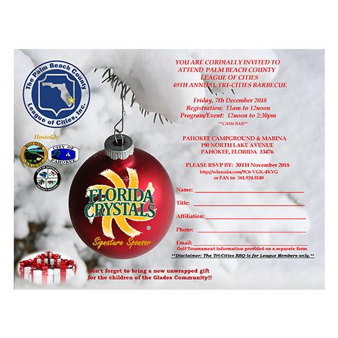 Palm Beach County League of Cities 49th Annual Tri-Cities BBQ