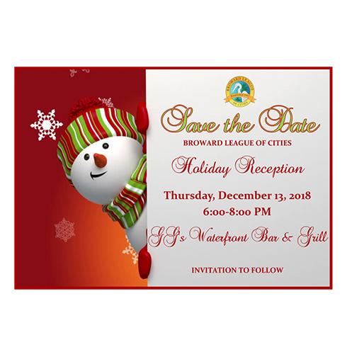 Broward League of Cities Holiday Reception
