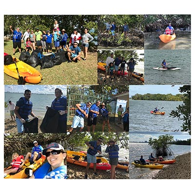 CMA Staff Participates in First Community Service Event of 2019