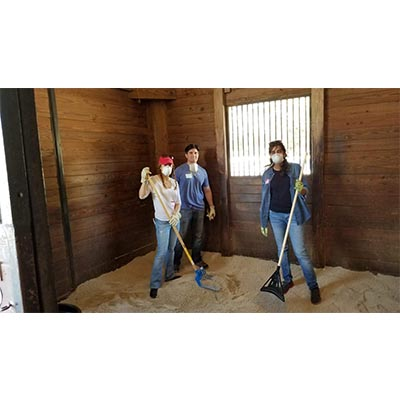 CMA Partnered With FES Broward as Equestrian Volunteers