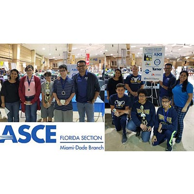 2019 ASCE Miami-Dade Engineering Encounters Bridge Competition