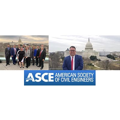 CMA President Peter Moore Visits Washington DC with ASCE Leaders