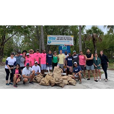 CMA & Turner Construction Participated in Community Clean-Up