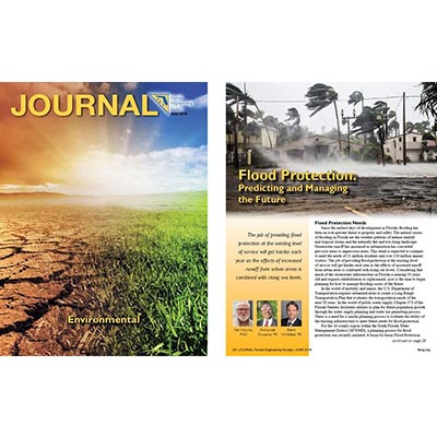 Brent Whitfield, P.E., ENV SP Co-Authored Article in FES Journal
