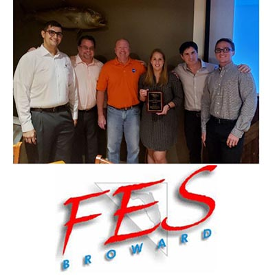 CMA Staff Recognized at Annual Broward Chapter FES Induction Ceremony