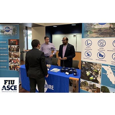 CMA Sponsored FIU ASCE Industry Fair