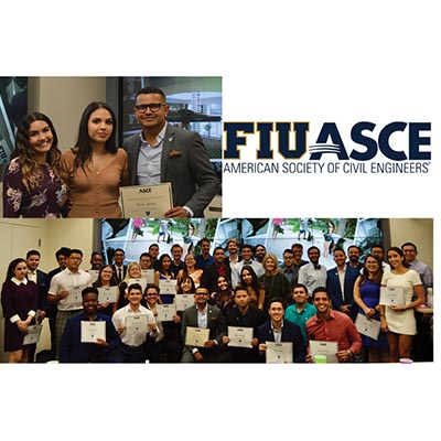 ASCE FIU Student Chapter Board and Member Induction Ceremony