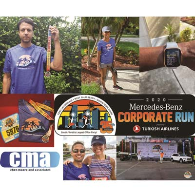 CMA Team Participated in the Annual Mercedes-Benz Corporate Run