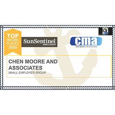 CMA Named South Florida Top Workplaces 2020 Honoree