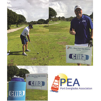CMA Helps Sponsor  Port Everglades Association Golf Tournament