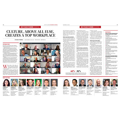 CMA Mentioned in the November 6 Issue of the South Florida Business Journal