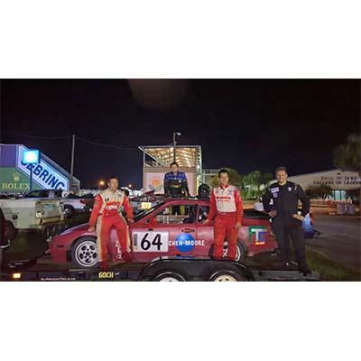 CMA Sponsors Employee Race Car at Sebring International Raceway