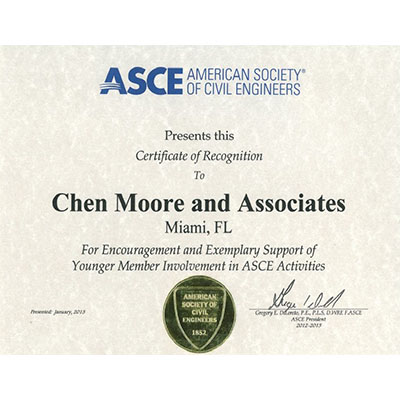 ASCE National Employer Recognition Award