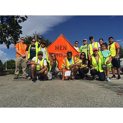 CMA Participates in The Miami-Dade County Adopt-A-Road Program