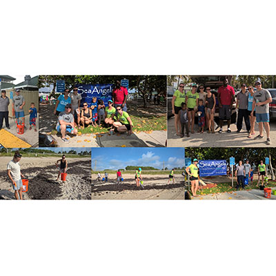 CMA Participates in Beach Cleanup