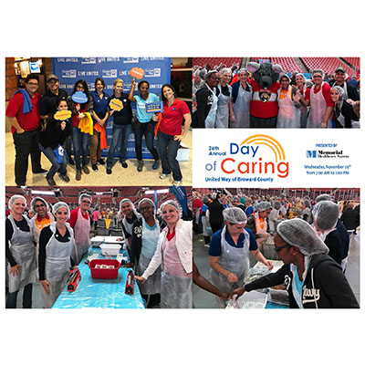 CMA Participated in Broward United Way Day of Caring