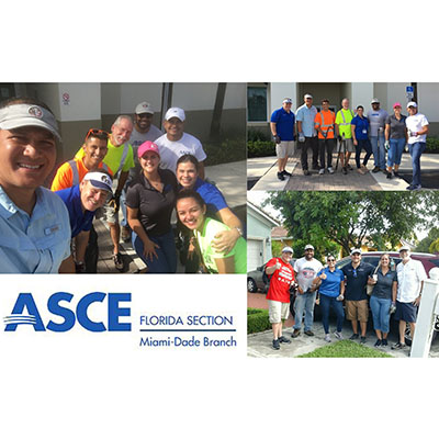 Tijerino and Kaimrajh Joined Together With ASCE and Town of Miami Lakes in Community Clean