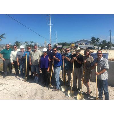 CMA Attends Marathon Utility Maintenance Facility-Construction Management Groundbreaking