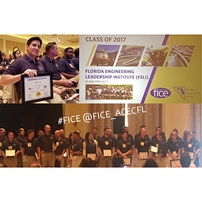 Daniel Davila, P.E. Graduates from the Florida Engineering Leadership Institute