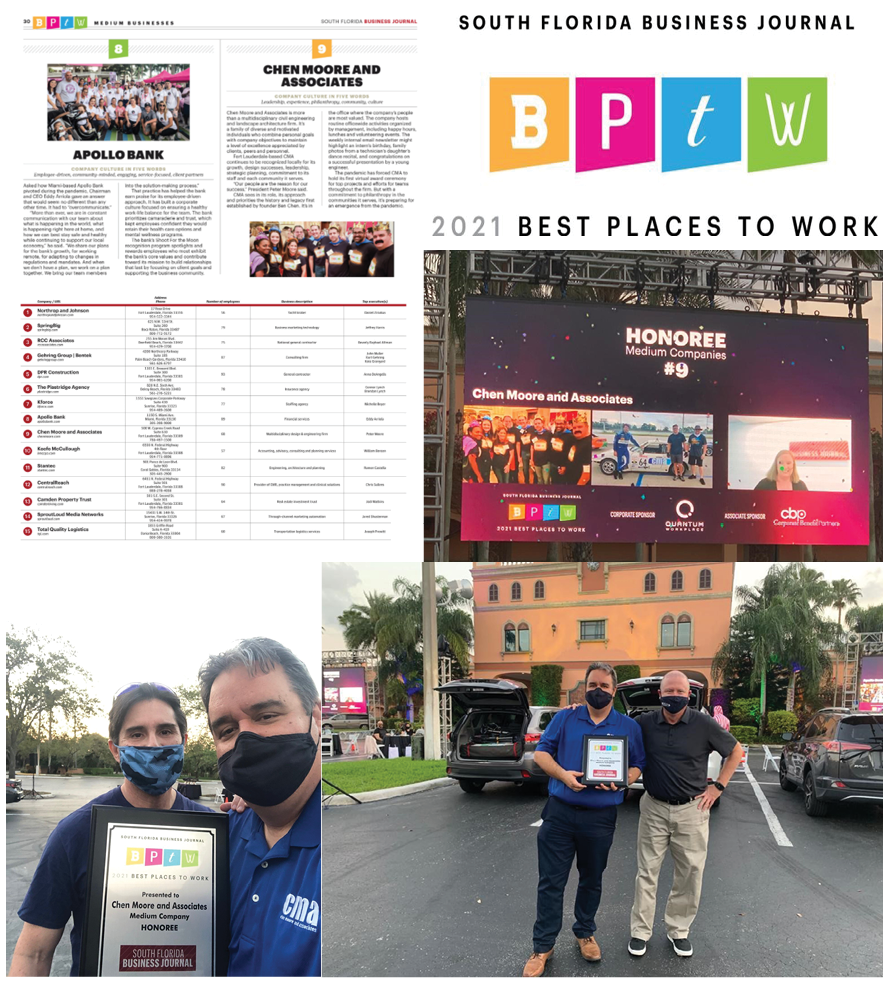 CMA Ranked as SFBJ 'Best Places to Work'