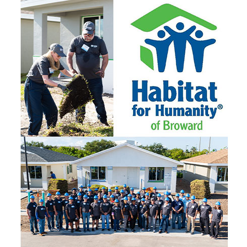 CMA President Participates in Habitat for Humanity of Broward CEO Build