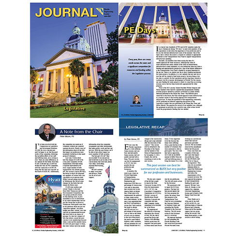 Peter Moore and Brent Whitfield Featured in FES Journal