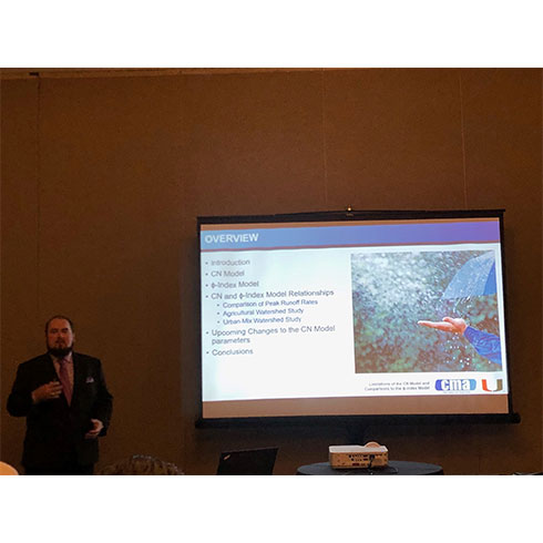 CMA Associate Engineer Presents at Annual ASCE Florida Section Conference